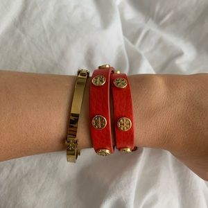 Tori Burch bracelet set